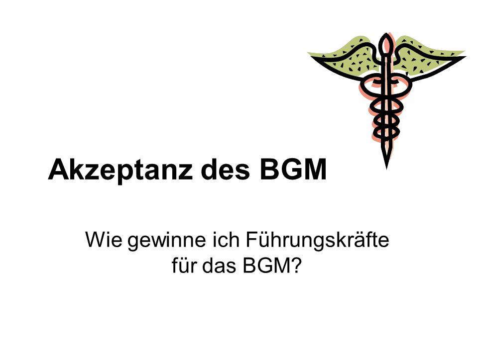 Wie gewinne ich Führungskräfte für das BGM
