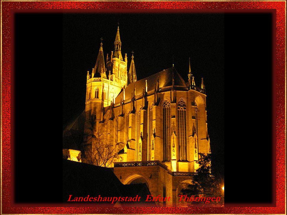 Landeshauptstadt Erfurt Thüringen