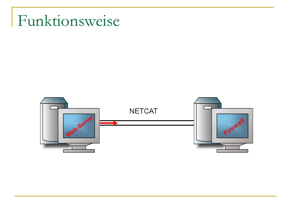 Funktionsweise Web-Server Firewall NETCAT