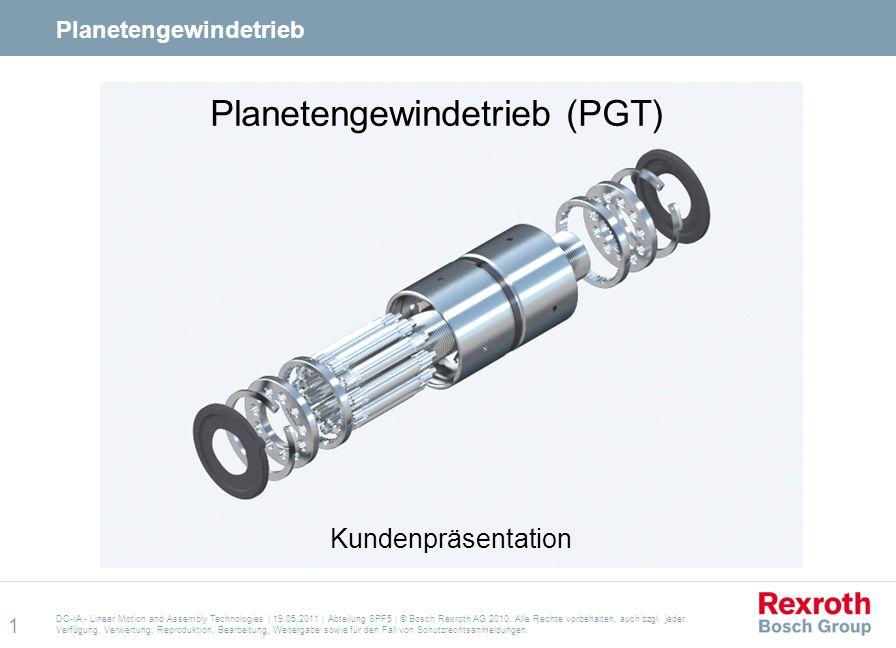 Planetengewindetrieb (PGT)