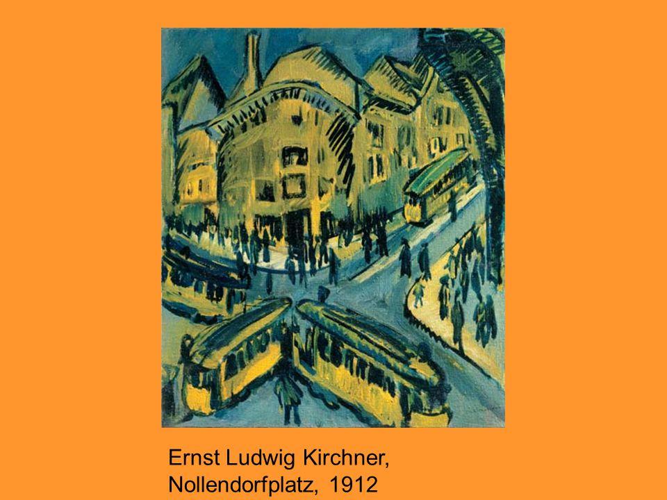 Ernst Ludwig Kirchner, Nollendorfplatz, 1912