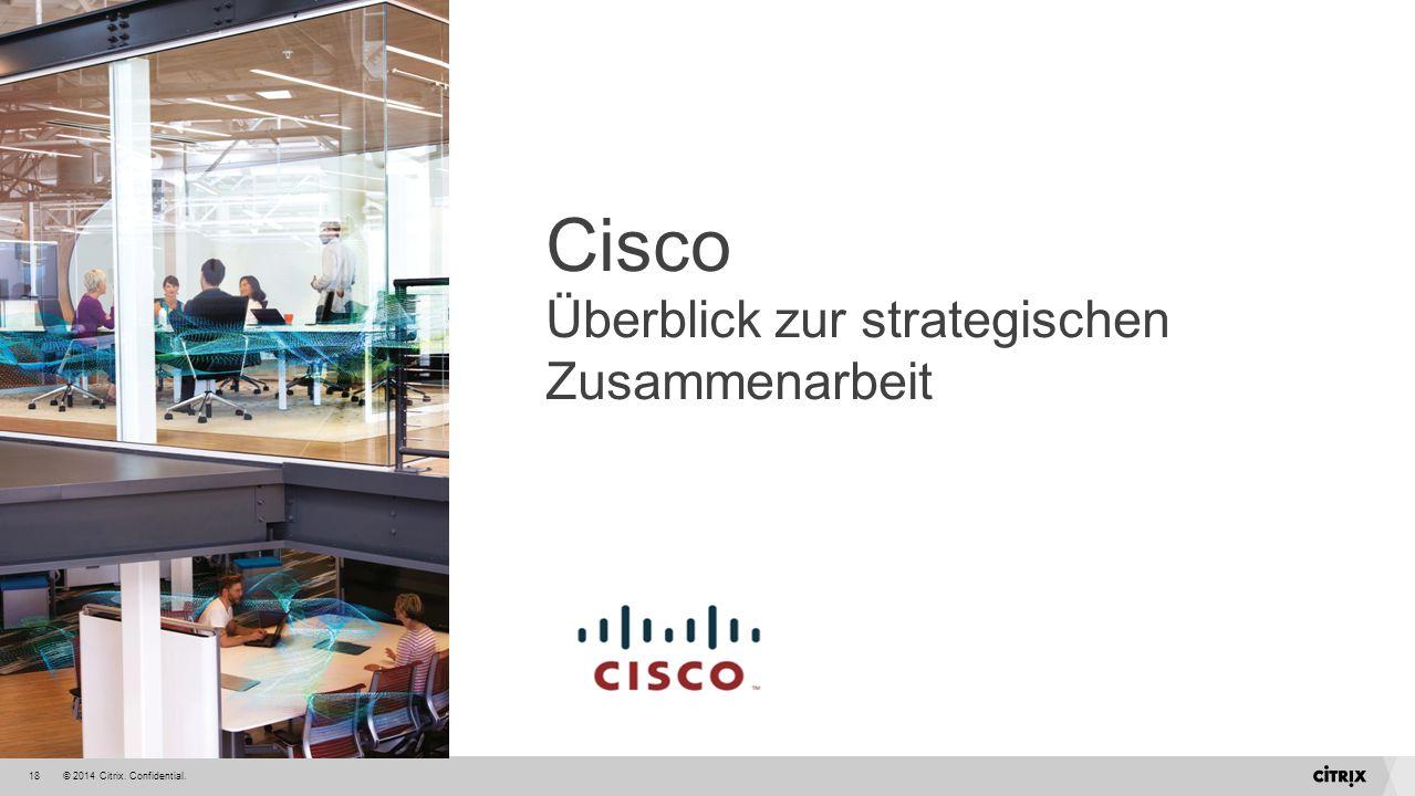 Cisco Überblick zur strategischen Zusammenarbeit