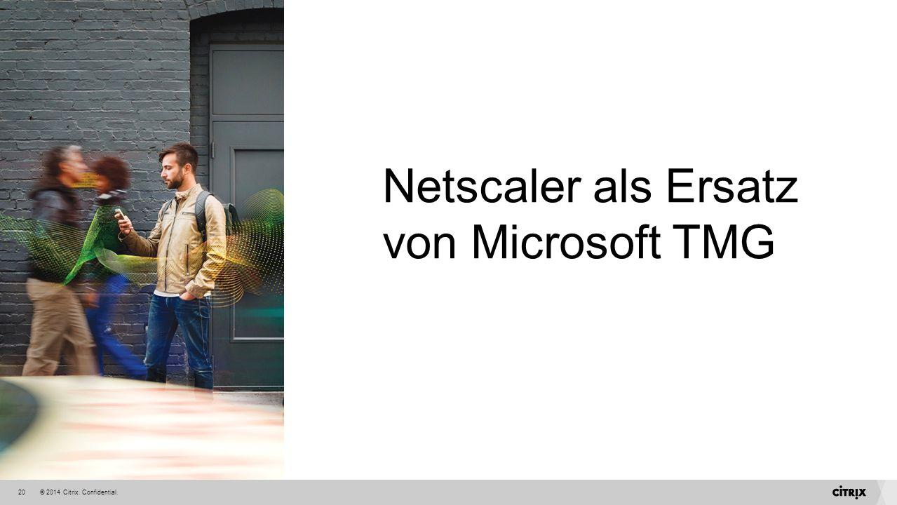Netscaler als Ersatz von Microsoft TMG