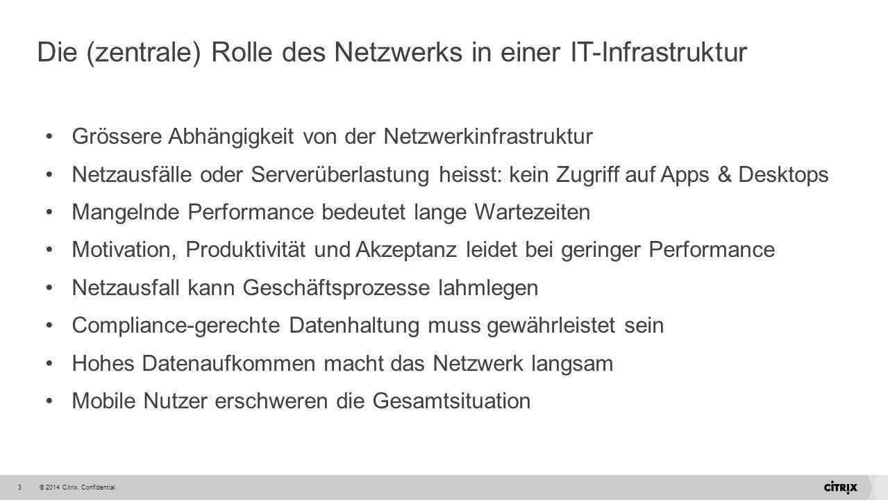 Die (zentrale) Rolle des Netzwerks in einer IT-Infrastruktur