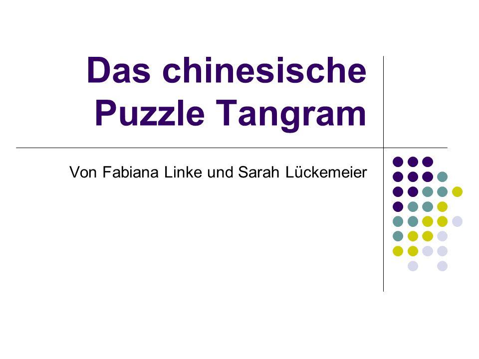 Das chinesische Puzzle Tangram