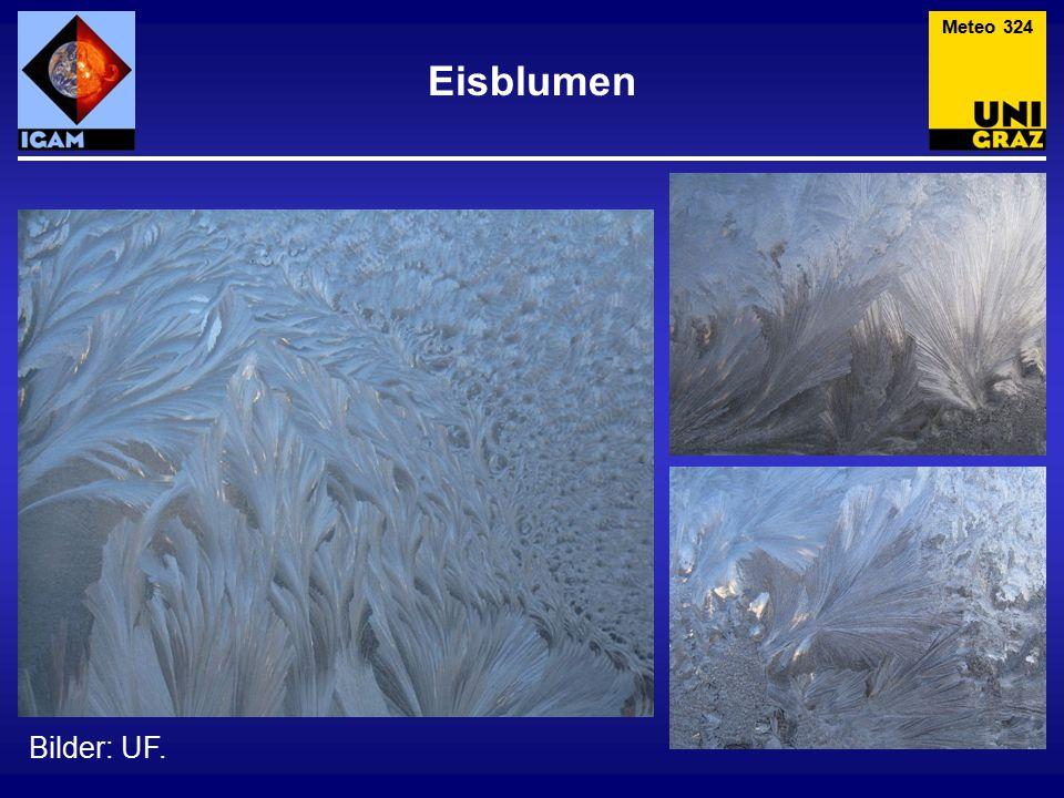 Meteo 324 Eisblumen Bilder: UF.