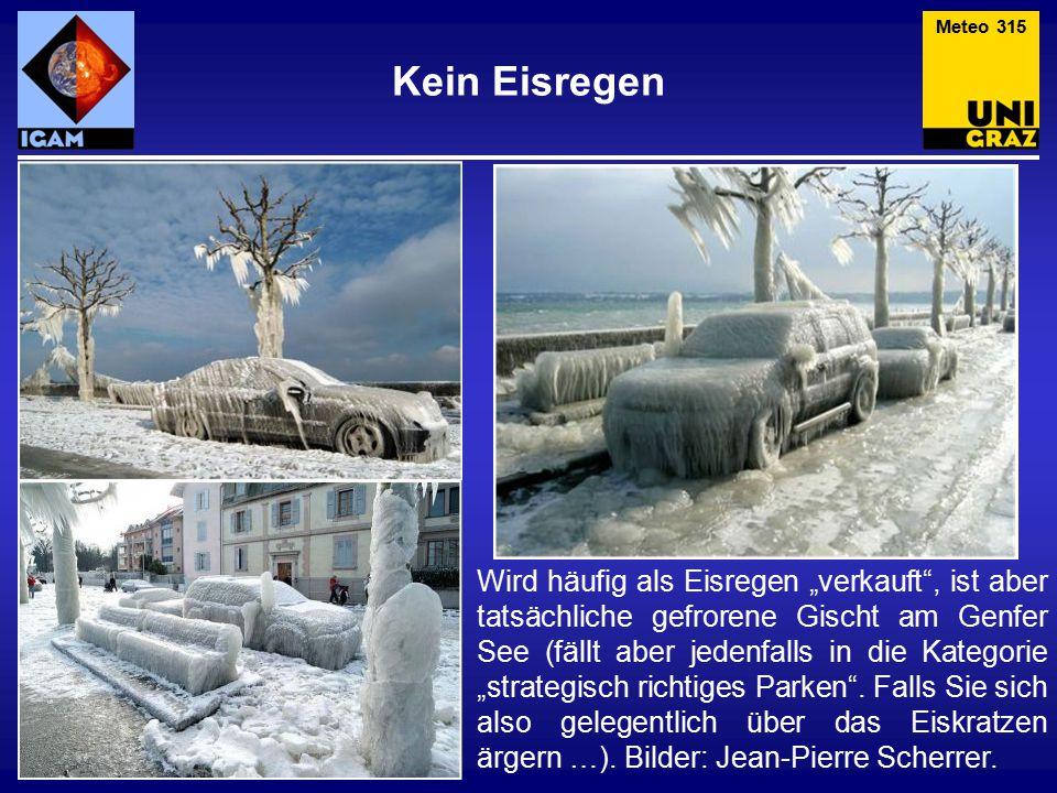 Meteo 315 Kein Eisregen.