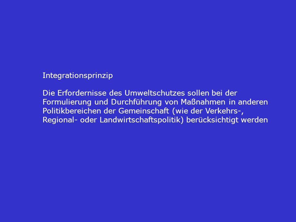 Integrationsprinzip