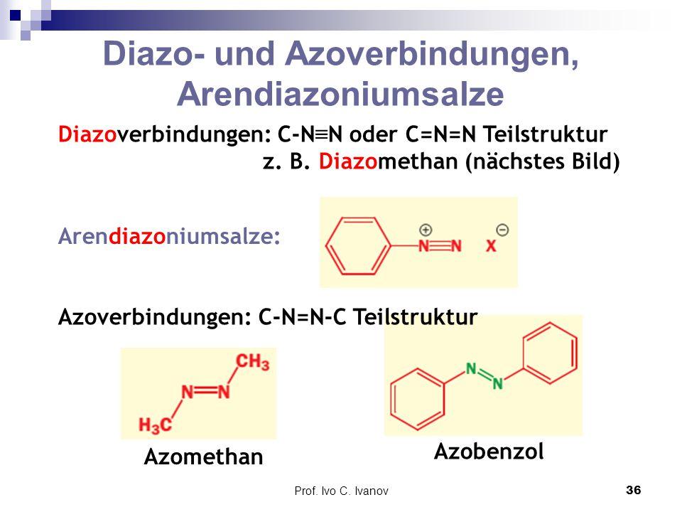 Diazo- und Azoverbindungen, Arendiazoniumsalze