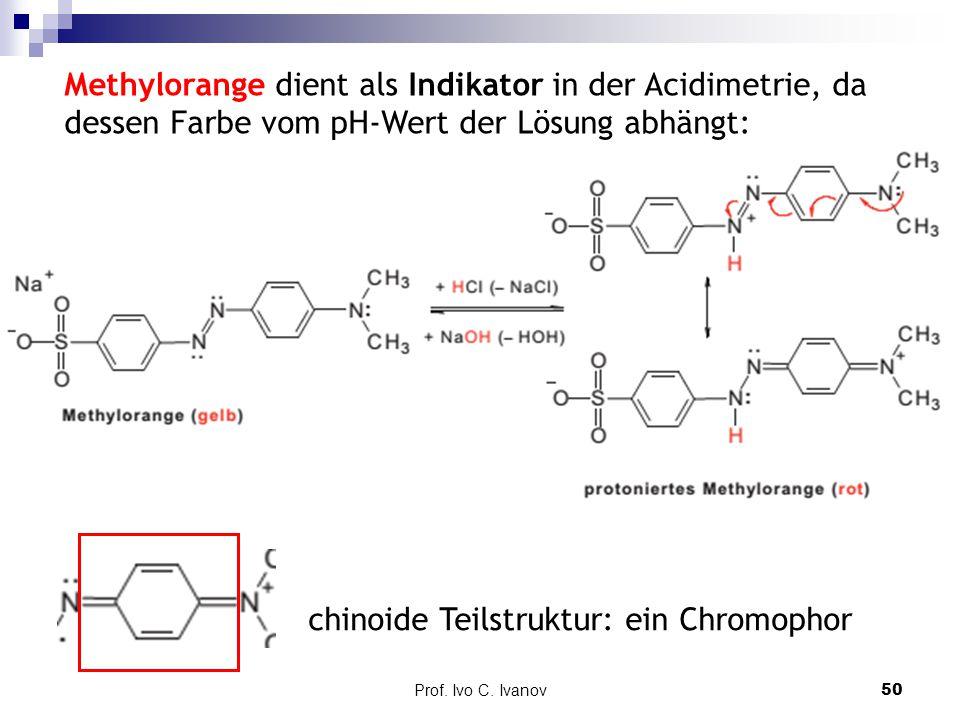chinoide Teilstruktur: ein Chromophor