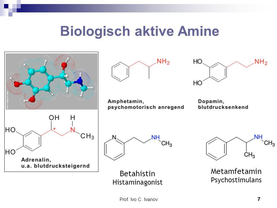 Biologisch aktive Amine
