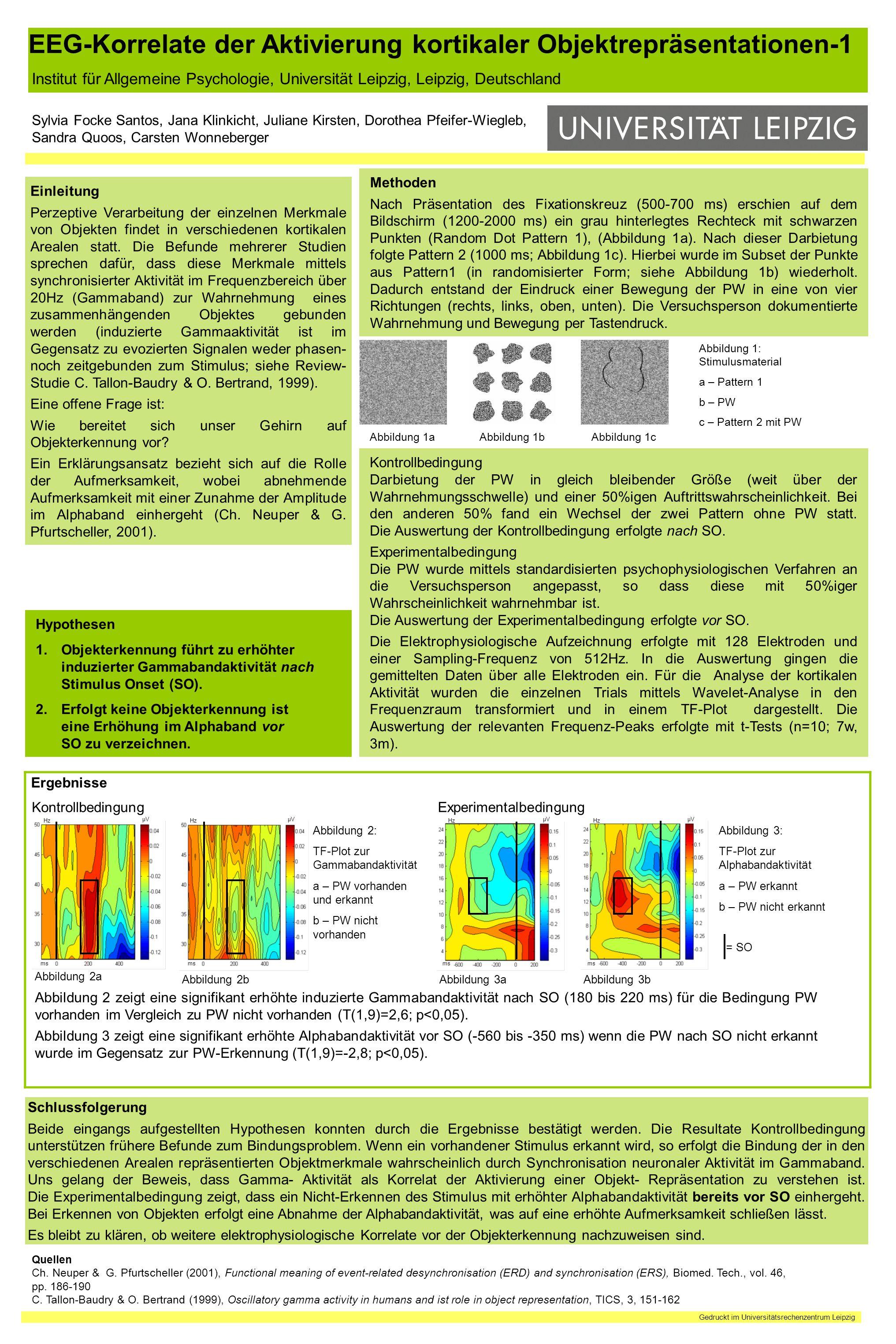 EEG-Korrelate der Aktivierung kortikaler Objektrepräsentationen-1