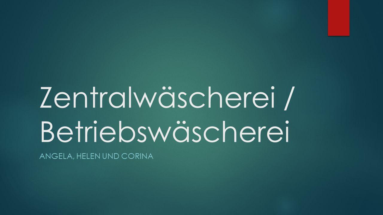 Zentralwäscherei / Betriebswäscherei