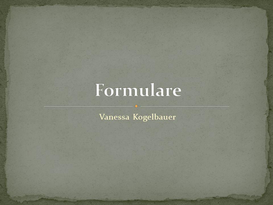 Formulare Vanessa Kogelbauer