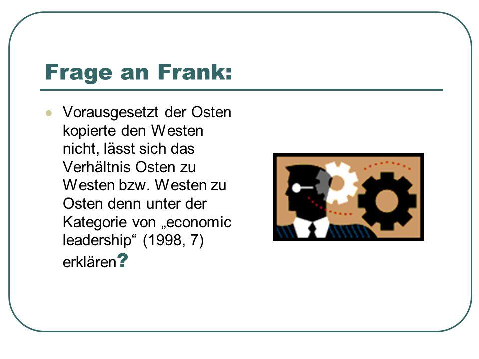Frage an Frank: