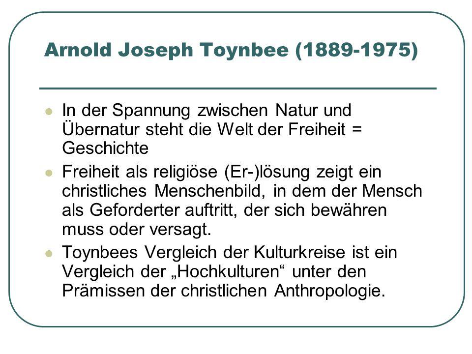Arnold Joseph Toynbee (1889-1975)