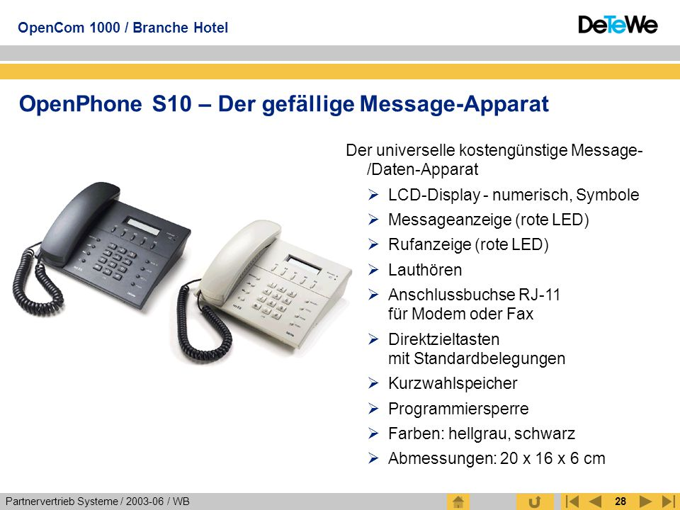 OpenPhone S10 – Der gefällige Message-Apparat