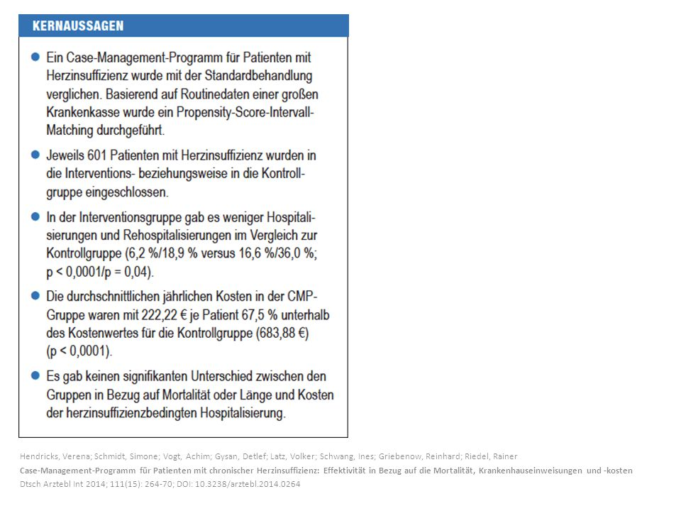Hendricks, Verena; Schmidt, Simone; Vogt, Achim; Gysan, Detlef; Latz, Volker; Schwang, Ines; Griebenow, Reinhard; Riedel, Rainer