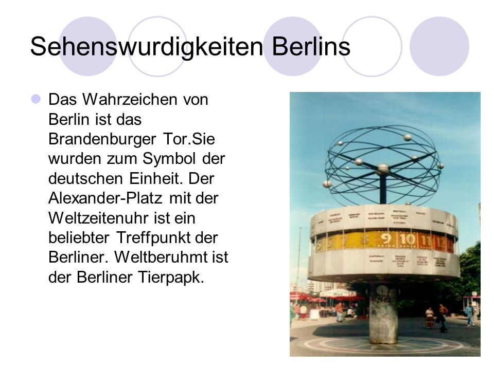 Sehenswurdigkeiten Berlins
