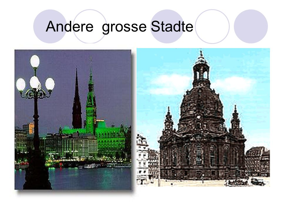 Andere grosse Stadte