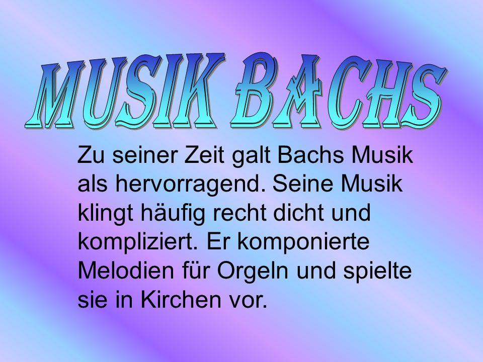 Musik Bachs
