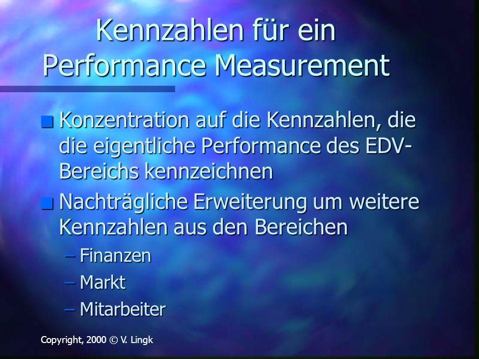 Kennzahlen für ein Performance Measurement