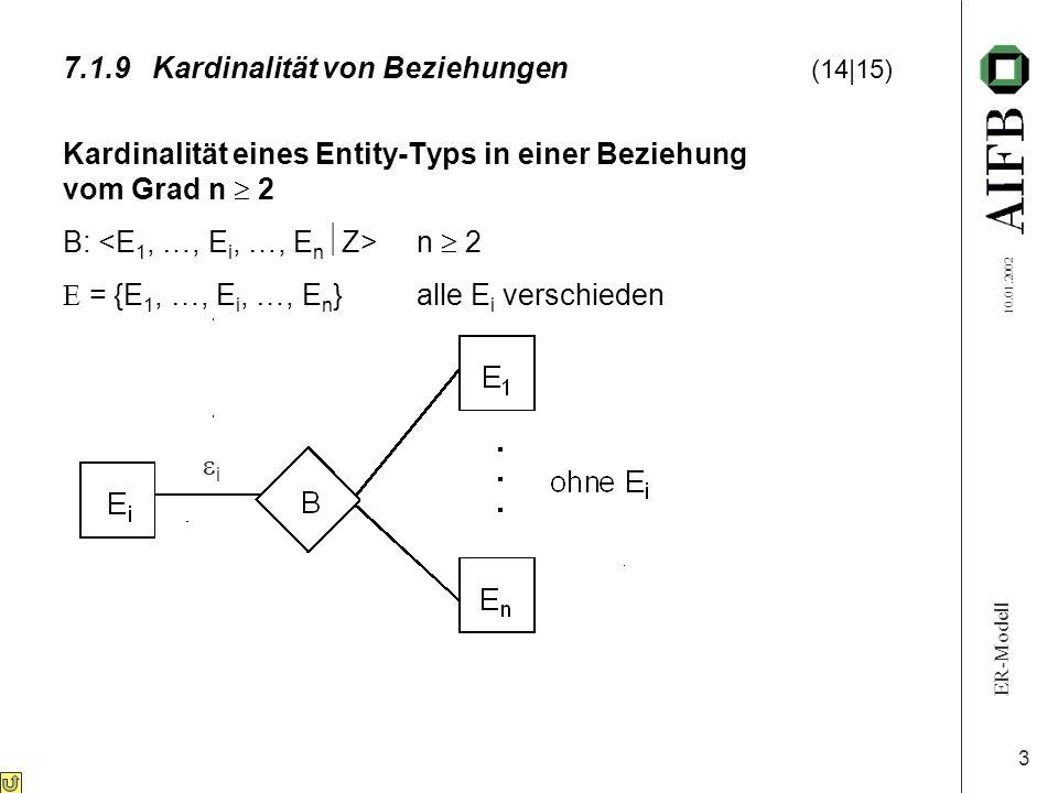 7.1.9 Kardinalität von Beziehungen (14|15)