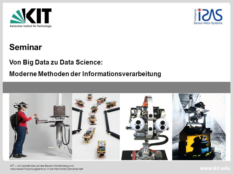 Seminar Von Big Data zu Data Science: