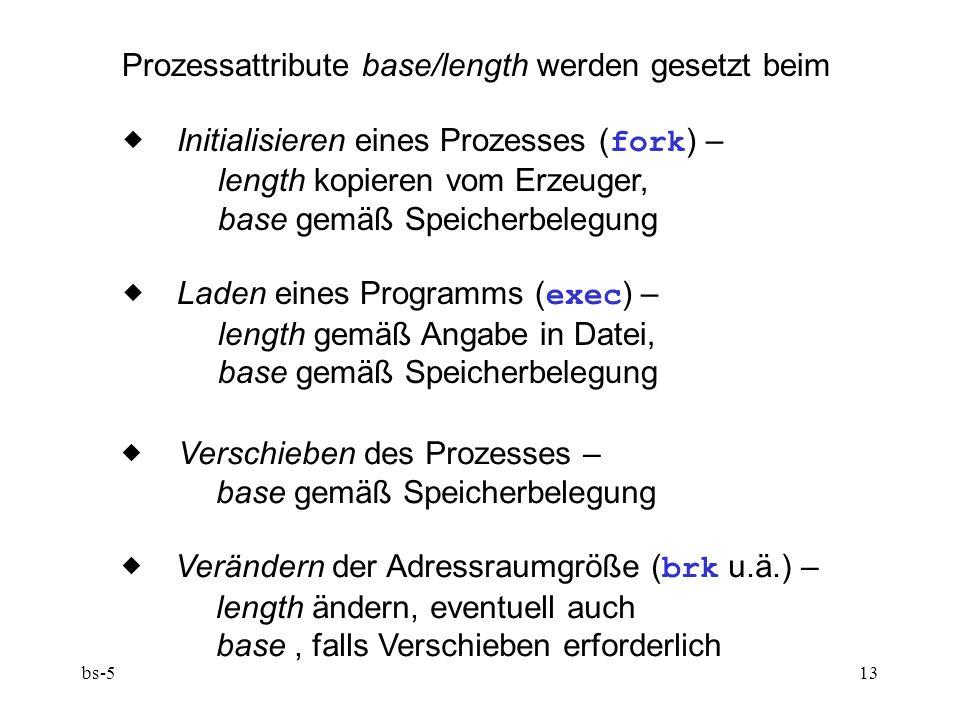 Prozessattribute base/length werden gesetzt beim