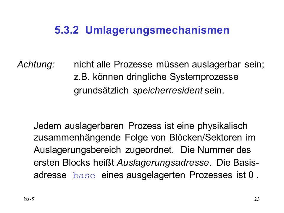 5.3.2 Umlagerungsmechanismen