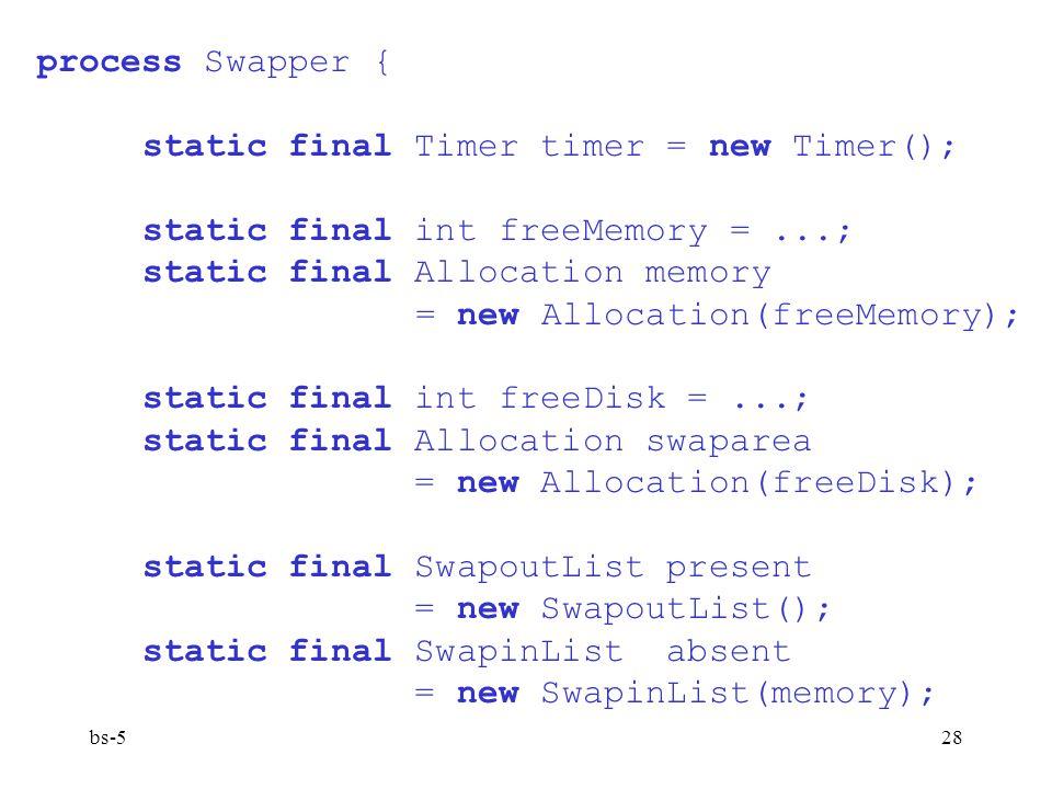 static final Timer timer = new Timer();