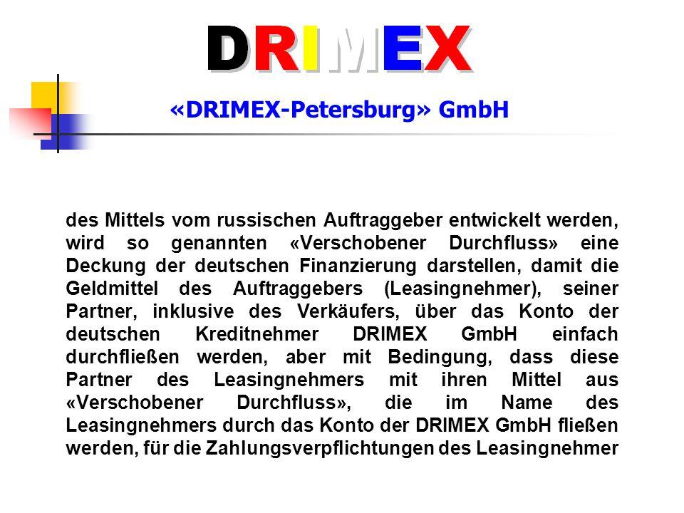 «DRIMEX-Petersburg» GmbH