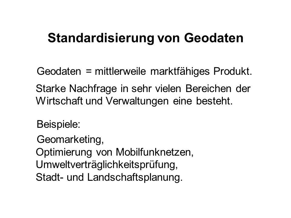 Standardisierung von Geodaten