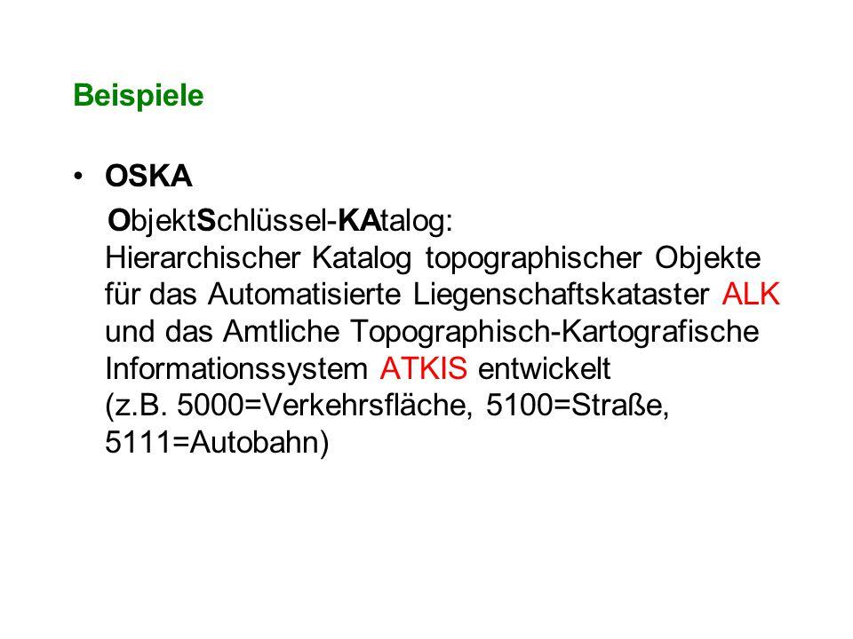 Beispiele OSKA.