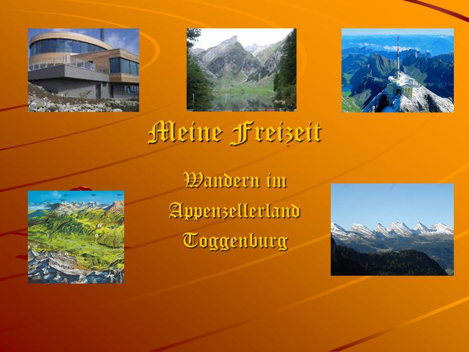 Wandern im Appenzellerland Toggenburg