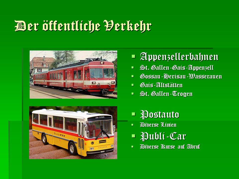 Der öffentliche Verkehr