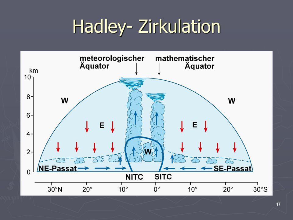 Hadley- Zirkulation