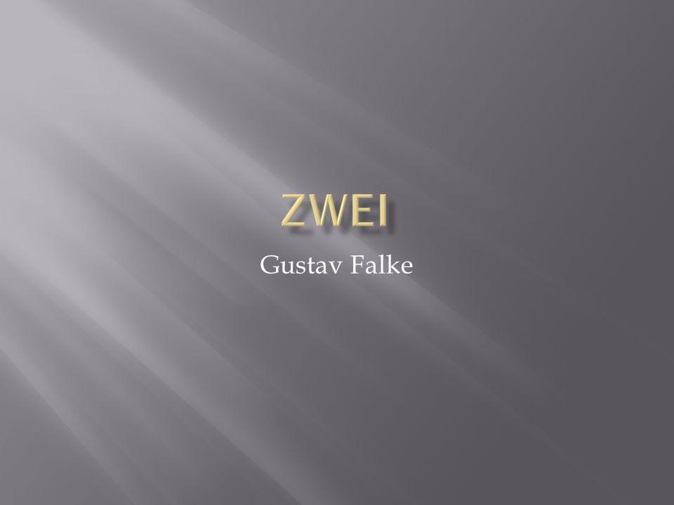 Zwei Gustav Falke