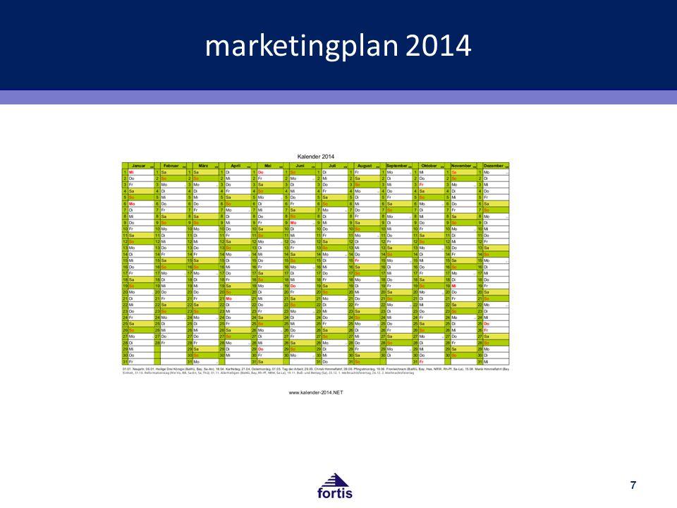 marketingplan 2014 Bild jahresplaner