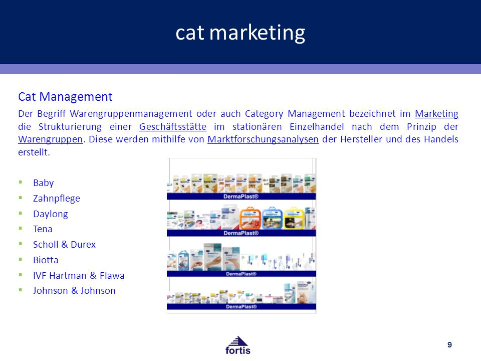 cat marketing Cat Management