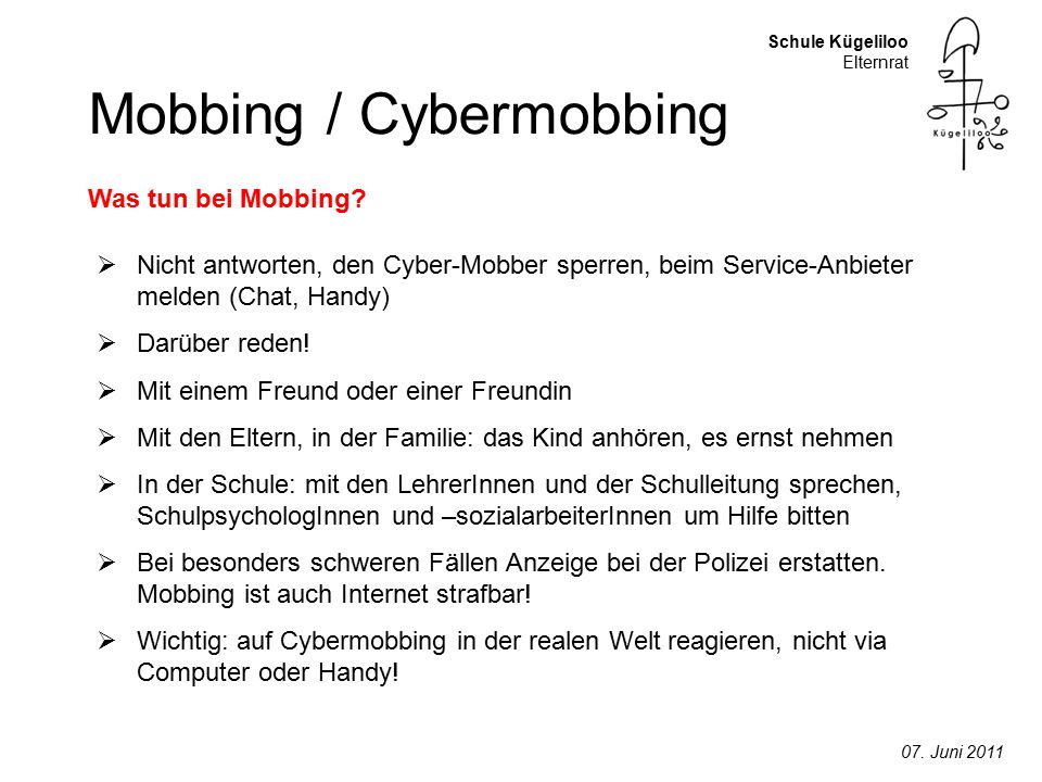 Mobbing / Cybermobbing