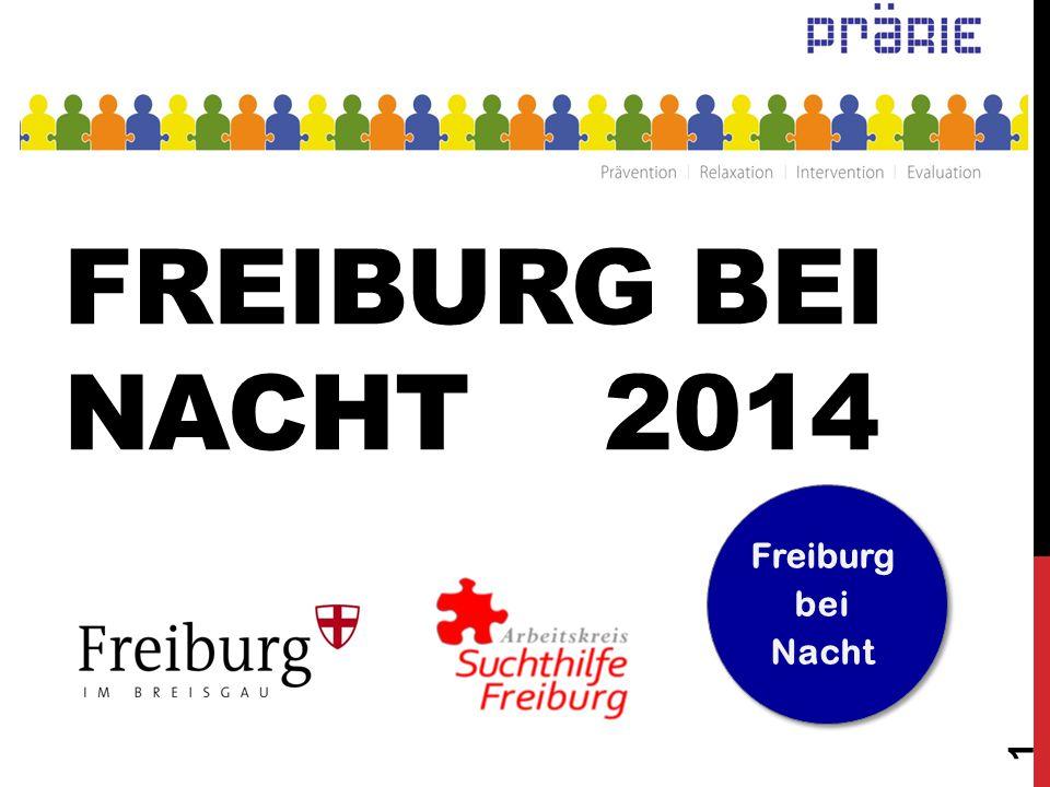 Freiburg bei Nacht 2014 Freiburg bei Nacht