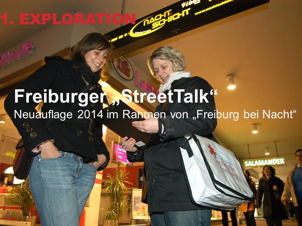 "Freiburger ""StreetTalk"