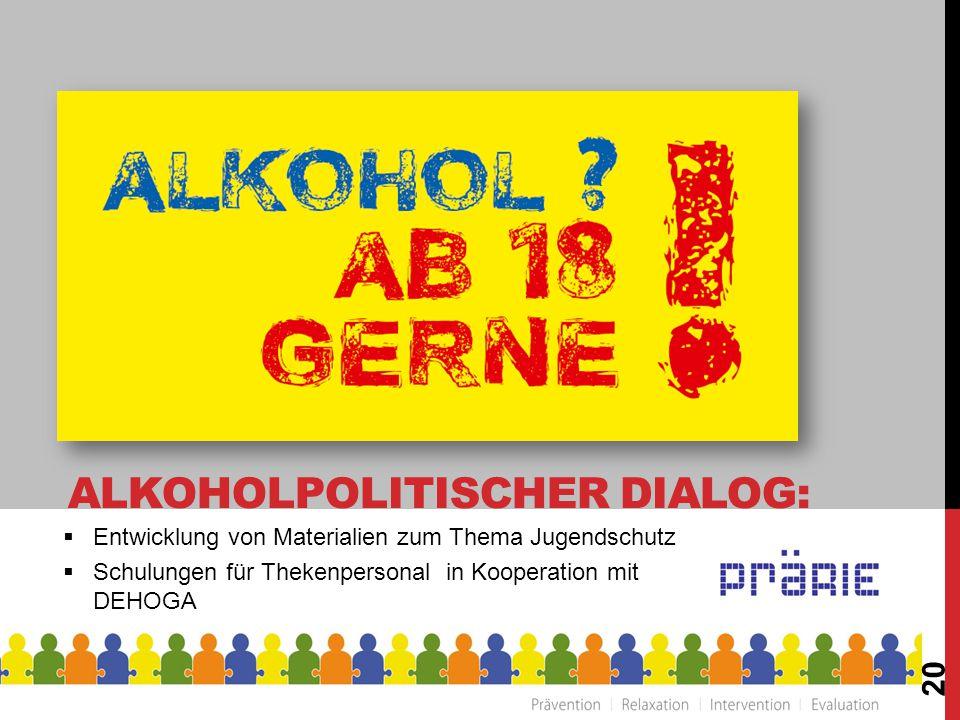 Alkoholpolitischer Dialog:
