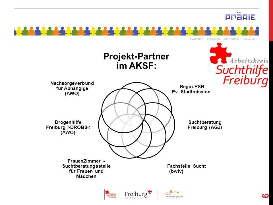 Projekt-Partner im AKSF:
