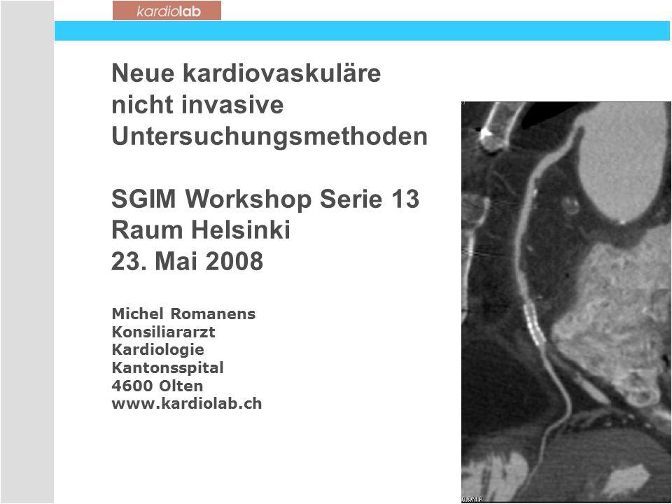 Untersuchungsmethoden SGIM Workshop Serie 13 Raum Helsinki
