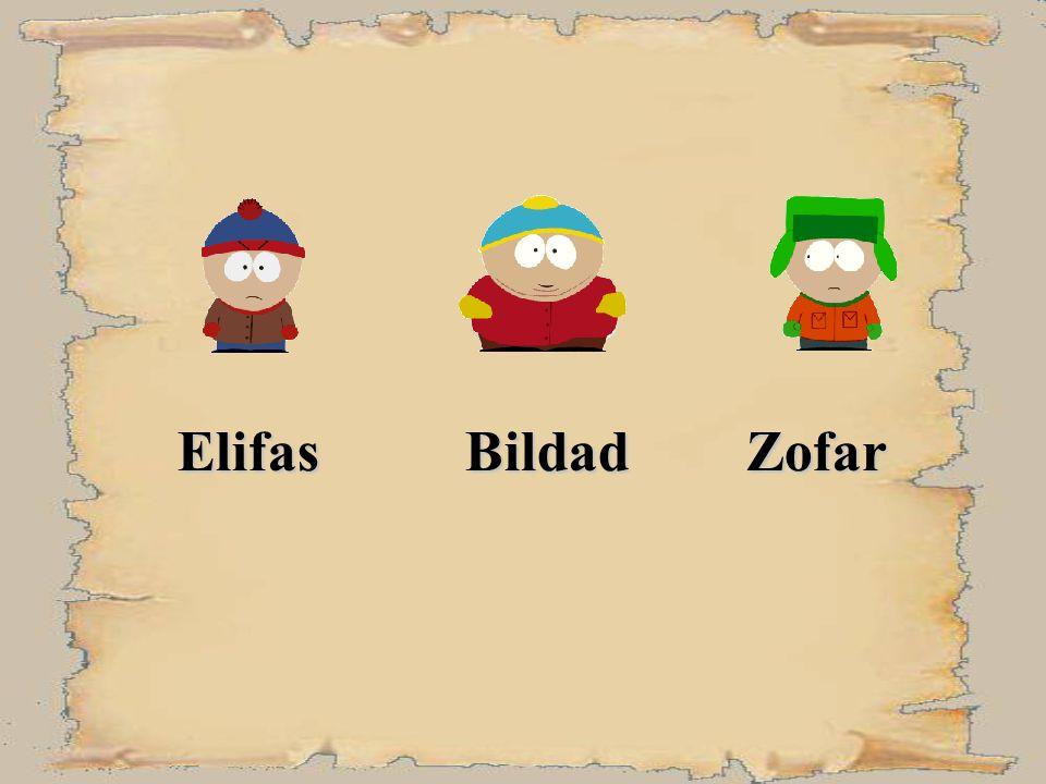 Elifas Bildad Zofar