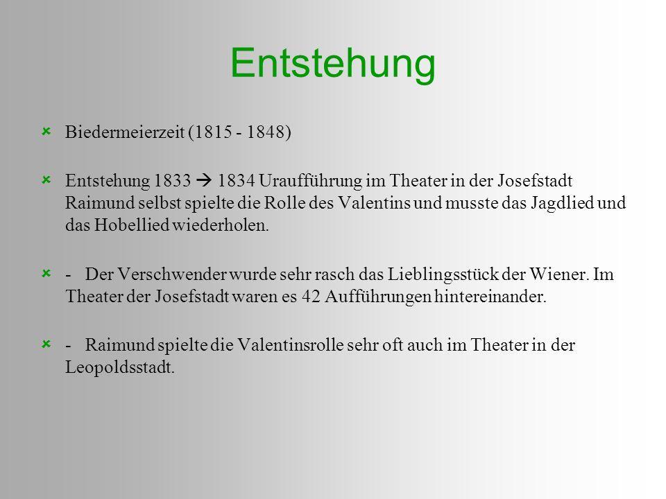 Entstehung Biedermeierzeit (1815 - 1848)