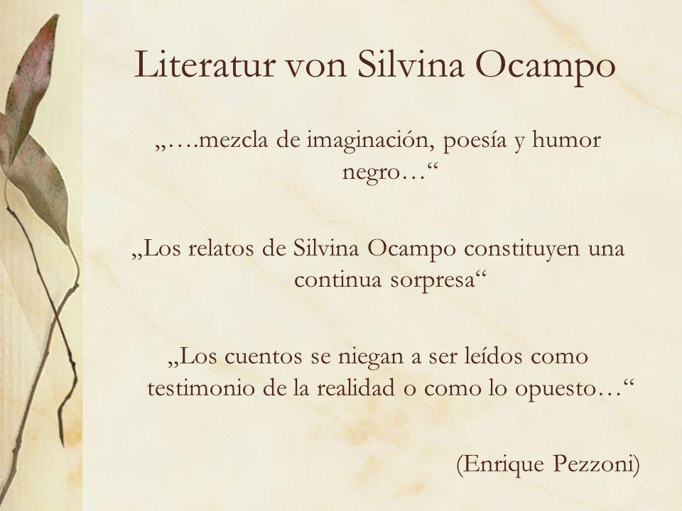 Literatur von Silvina Ocampo