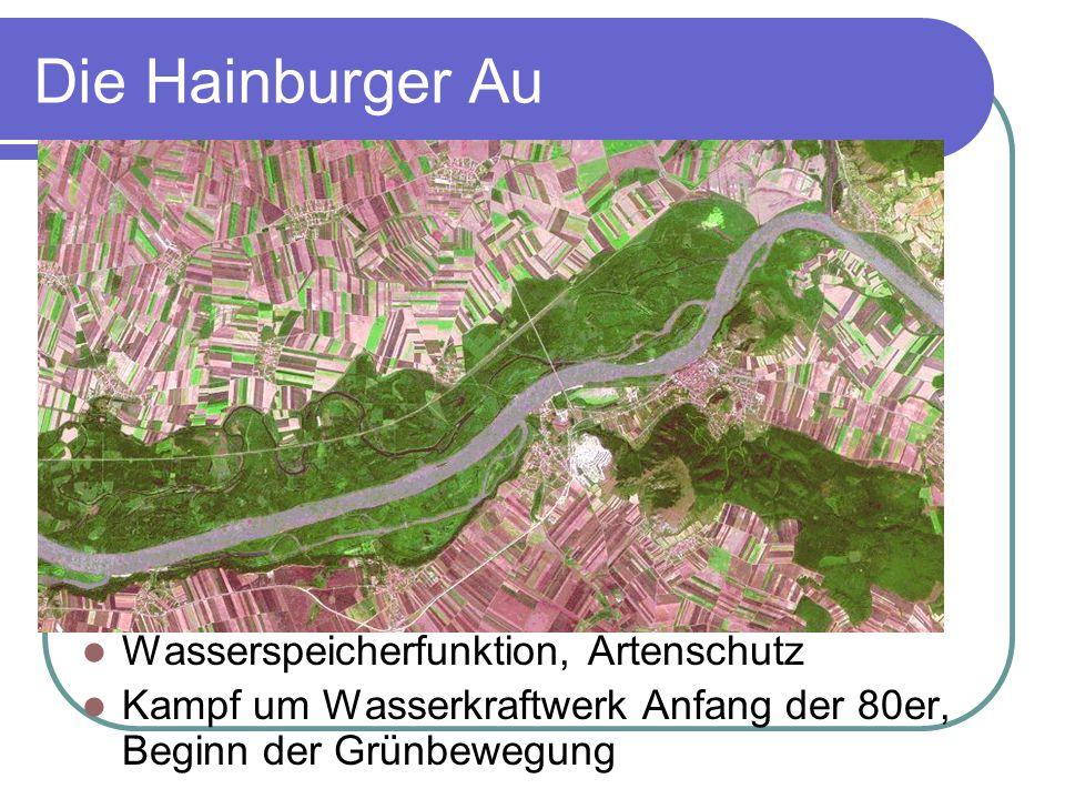 Die Hainburger Au Wasserspeicherfunktion, Artenschutz